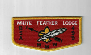 OA Lodge 499 White Feather S11 Flap DYL Bdr Paducah, KY [JB460]