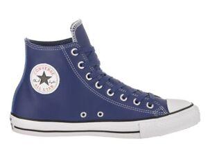 753e52637a92 Converse Unisex Chuck Taylor All Star Hi Leather Shoes Roadtrip Blue ...