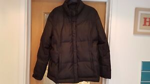 GAP-SIZE-L-G-BLACK-PADDED-JACKET-ZIP-CLOSURE-LONG-SLEEVED-WAIST-LENGTH