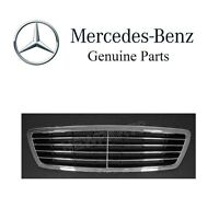 Mercedes S-class Front Center Grille Assembly Black Genuine 220 880 05 83 9040