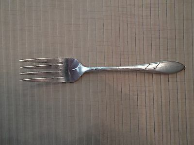 Oneida Community Lady Hamilton Salad Fork Vintage Silverplate