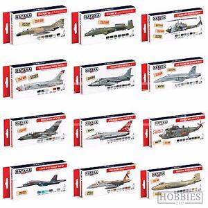Hataka-Modern-Plane-Acrylic-Paint-Set-Model-Aviation-Colour-Scheme-RAF-Luftwaffe