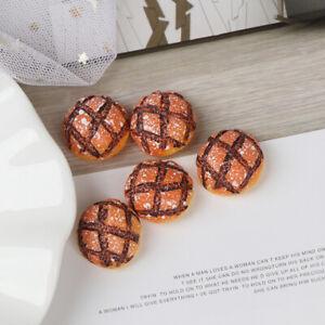 5Pcs-1-12-Dollhouse-miniature-breads-doll-house-kitchen-mini-food-accessories-AU