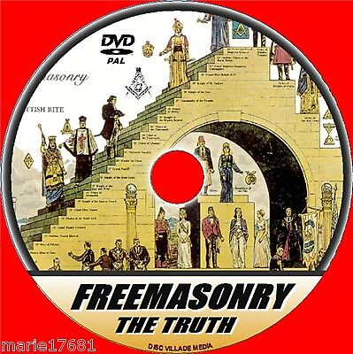 FREEMASONRY DVD VIDEO LEARN THE FACTS ABOUT THE SECRETIVE ANCIENT MASONIC ORDERS