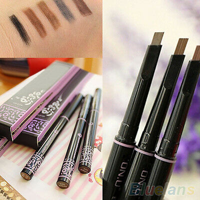 Women New Fashion Makeup Cosmetic Eye Liner Eyebrow Pen Brush Beauty Tool Pencil