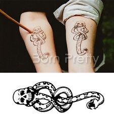 Wasserfest Einmal Tattoo Schlange Muster Körper Tattoos Aufkleber Hauttattoo