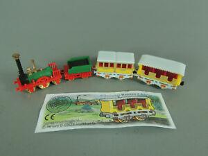 Locomotives: Historique De Chemin De Fer 2000-set + 1 Bpz-afficher Le Titre D'origine Lsaylpsg-08005813-477985102