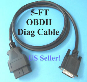 OBD2-OBDII-Cable-for-Cen-Tech-CenTech-Models-98614-and-99722-Code-Reader-Scanner