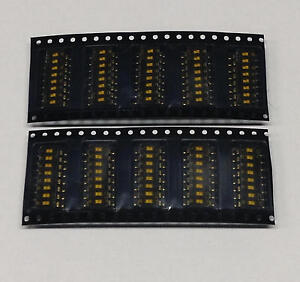 100 pcs DMR08T Dip-Switch SMD 8-Position with Tape Seal