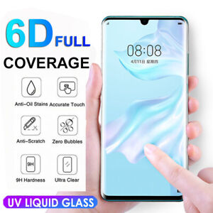 Liquid-UV-Full-Glue-6D-Tempered-Glass-Screen-Protector-For-Huawei-P30-Pro-Lite