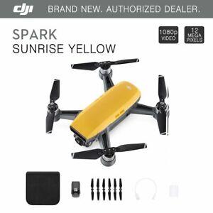 DJI-Spark-Sunrise-Yellow-Quadcopter-Drone-12MP-1080p