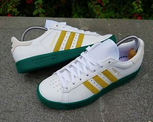 Retro taglia Adidas Bnwb White Hills ® 7 Forest autentico Uk Trainers e Originals qnHxn01P