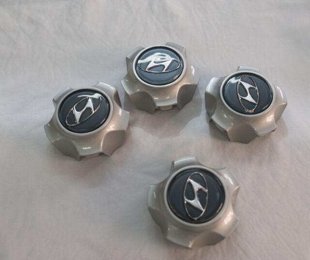 (Fit Hyundai Santa Fe 2001-2005) Wheel Center Caps 4Pcs 1Set Genuine OEM Part