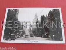 Collins Street Melbourne Victoria Australia Postcard