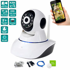 iSmart Wireless 1.0MP WIFI HD 720P Pan Tilt P2P Security IP Camera WiFi Webcam