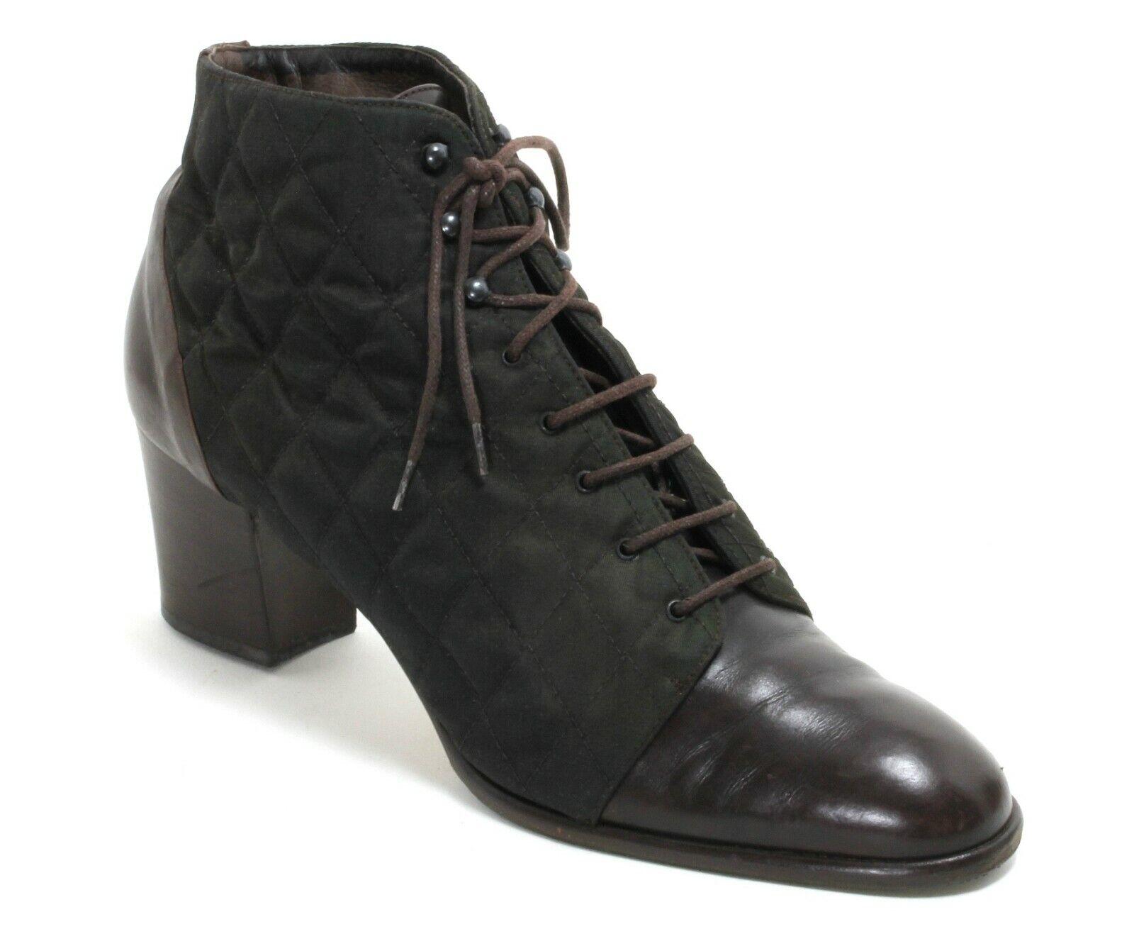 Schnürzapatos ata zapatos Vintage zapato bajo maripé blogueros 41,5 - 42