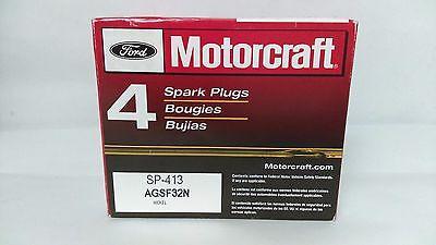 Set of 4 Genuine Motorcraft Spark Plug SP413