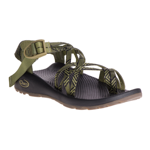 Chaco ZX 2 Classic Palm Avacodo Strap Sport Sandal Womens Size 9