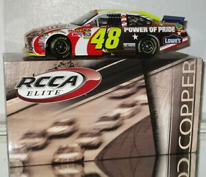 2011-RCCA-Jimmie-Johnson-48-LOWE-039-S-POWER-OF-PRIDE-COPPER-ELITE-1-24-car-13-24