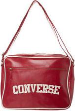 Converse Flat Zip Reporter Heritage PU Bag (Red)