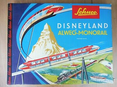 6333//18 in OVP Beutel 2 Stk Schuco Disneyland Monorail 2 pcs Original Bag