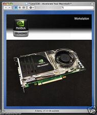 nVidia Quadro FX4600 640mb Pro Graphics Video Card For Apple Mac Pro 1,1/2,1