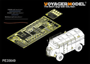 Voyager-1-35-WWII-British-AEC-4x4-ACV-Dorchester-Detail-Set-for-AFV-Club-AF35227
