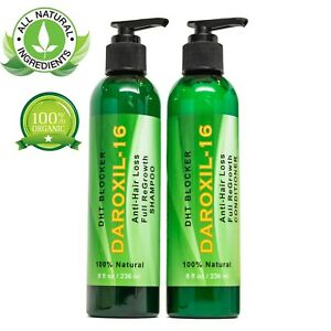 Best Fastest Hair Loss Regrowth Thinning Shampoo Conditioner 16 Oils Men Women