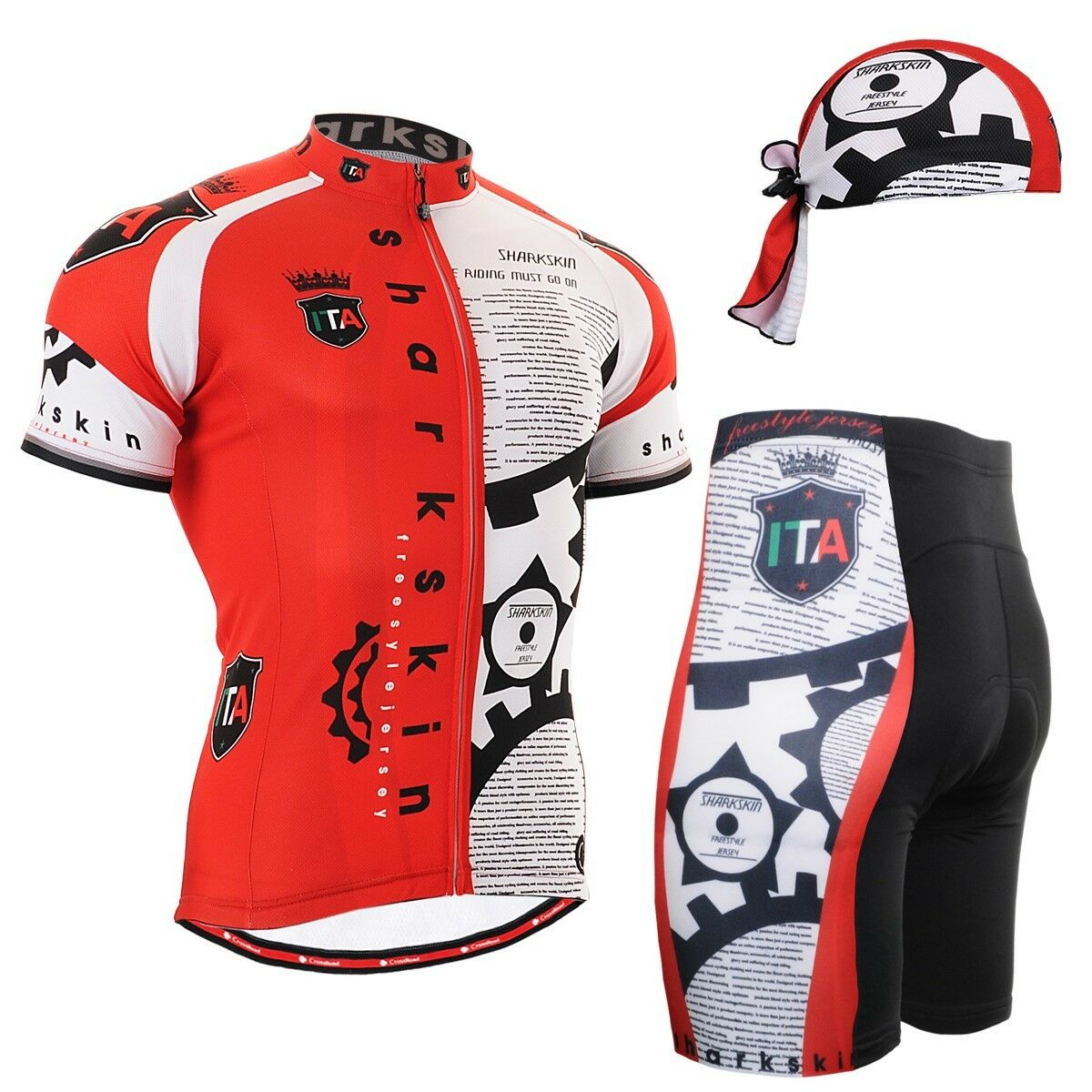 FIXGEAR CS-g402 SET Cycling Jersey & Shorts Padded, MTB  Bike, BMX, Beanie GIFT  save 60% discount and fast shipping worldwide