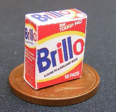 1:12 Scala Vuoto Brillo Pulizia Pad Box Casa Delle Bambole Accessorio Da Cucina In Miniatura-mostra Il Titolo Originale Elevato Standard Di Qualità E Igiene