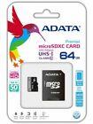 ADATA Premier 64gb microSDXC Memory Card With Adapter