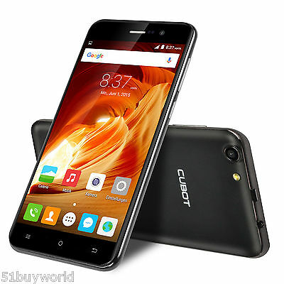 """5,5"""" CUBOT NOTE S 2G/16GB Android 6.0 Dual Sim Quad Core 3G Cellulare Smartphone"""