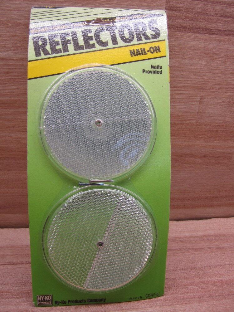 Hy-Ko CDRF - 5 Reflector (10 paquetes de 2) (paquete de 20)