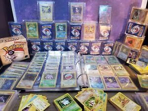 Vintage-Pokemon-Cards-20-Card-Lot-100-WOTC-Sets-Holos-Rares-1st-1999-2000