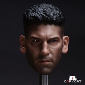 1-6-Male-Head-Model-Sculpt-Collection-Jon-Bernthal-F-12-034-Action-Figure-Doll