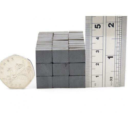 5 Block magnets 12mm x 10mm x 5mm C5 fridge craft DIY MRO