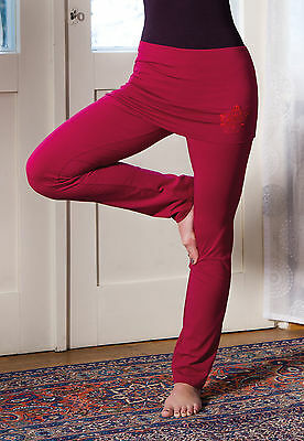 Yoga Pantaloni Con Ampio Rock Federale Rosenrot The Spirit Of Om Xs-xl- Costo Moderato