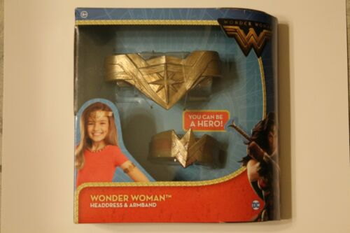 """WONDER WOMAN /""""HEADDRESS /& ARMBAND/""""  for your little one/'s Costume !! free ship"""