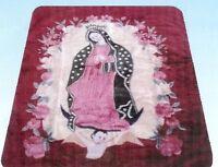 Virgin Mary Blanket Korean Style Soft Throw Rashel Lady Guadalupe Baby Infant