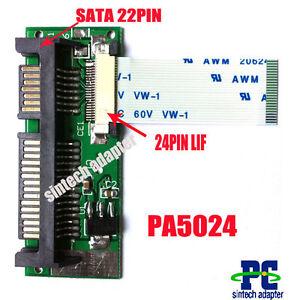ADATTATORE-24pin-lif-macbook-air-SSD-HDD-to-22pin-SATA-adapter-card