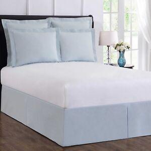 Light Blue Bed Skirt.Details About Wrap Around Wonderskirt California King Bed Skirt In Light Blue
