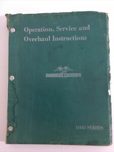 AMERICAN-LaFRANCE-OPERATORS-SERVICE-AND-OVERHAUL-INSTRUCTIONS-1000-SERIES