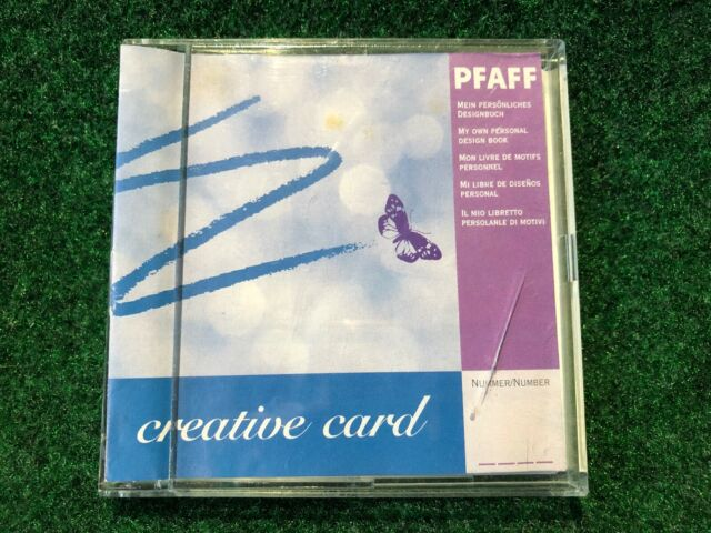 pfaff creative card 92330 01200000 for 7570  7560 with