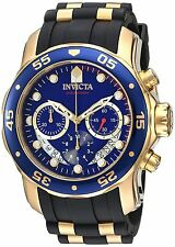 21929 Invicta 48mm Pro Diver Scuba Quartz Chronograph Polyurethane Strap Watch