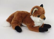 "Aurora 13"" Plush Red Fox Stuffed Animal Toy Lovey Forest Kids Pets Gift Woodland"