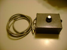 120 Vac To Dc Small Motor Control Box Variable Speed 1 Amp 250 Volt