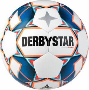 Derbystar Fußball Stratos S-Light weiß blau orange