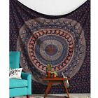 Indian Tapestry Wall Hanging Mandala Twin Hippie Bedspread Bohemian Decor Throw