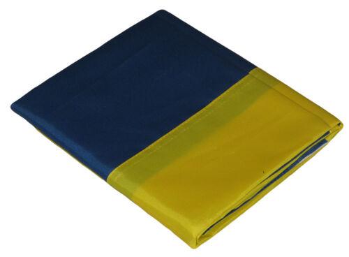 3x5 Embroidered Sewn Sweden Country Premium Quality Nylon Flag 3/'x5/' RAM