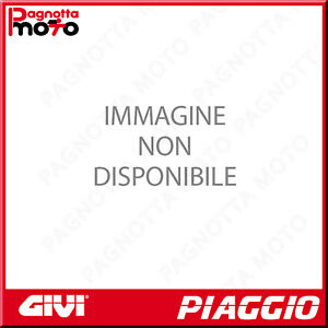 ATTACCO POSTERIORE PER BAULETTO MONOLOCK NERO PIAGGIO VESPA SPRINT 125 2014>2018